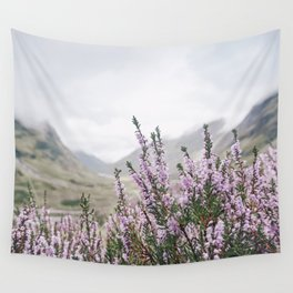Heather in Glencoe Wall Tapestry