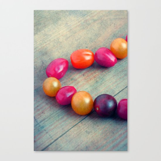 colorate Canvas Print