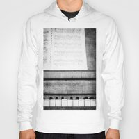 piano Hoodies featuring Piano by KimberosePhotography