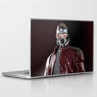 star lord Laptop & iPad Skins featuring Star Lord Fan Art by Vito Fabrizio Brugnola