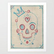 Skull Kids Art Print