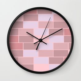 Bricks wall Wall Clock