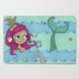 Melody the Mermaid Cutting Board