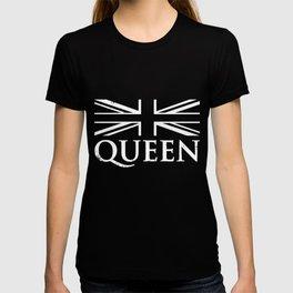 Pride Queen Vintage Grunge Flag T-shirt