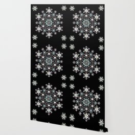 Snowflake Mandala Wallpaper