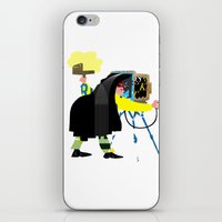 photographer iPhone & iPod Skins featuring Photographer by Design4u Studio