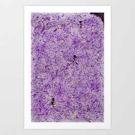 Purple People Eater Art Print