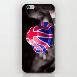 A Patriotic Boy iPhone Skin