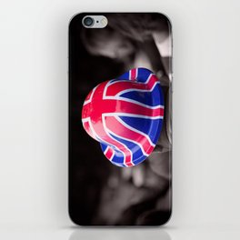 A Patriotic Boy iPhone Skin
