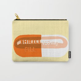 Thrill Pill Yellow Carry-All Pouch