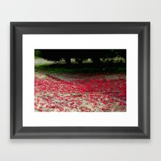 Ground Coverage Framed Art Print