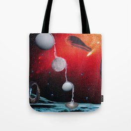 Many Moons From Now Tote Bag