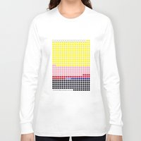 lichtenstein Long Sleeve T-shirts featuring Girl with Hair Ribbon (Roy Lichtenstein) color-sorted by Clemens Hellmund