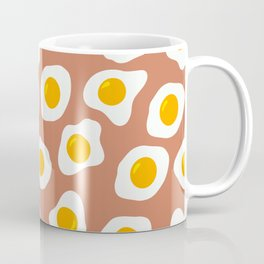 Eggs Pattern (Latte Color Background) Coffee Mug