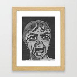WE ALL GO A LITTLE MAD SOMETIMES Framed Art Print