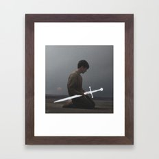 Weapon Framed Art Print