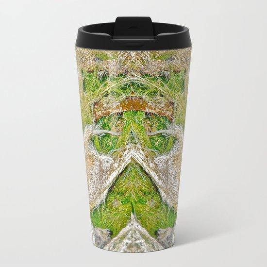 Ocean Grass Metal Travel Mug