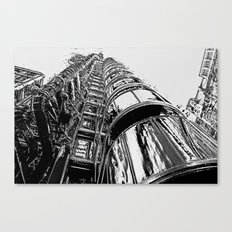 Lloyds Of London building Canvas Print