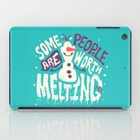 risa rodil iPad Cases featuring Worth melting for by Risa Rodil