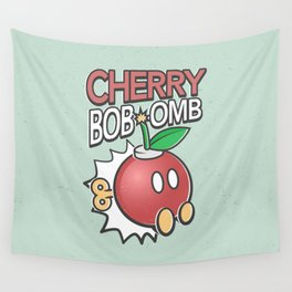 Cherry Bob-omb Wall Tapestry