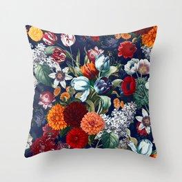 Night Garden XXXV Throw Pillow