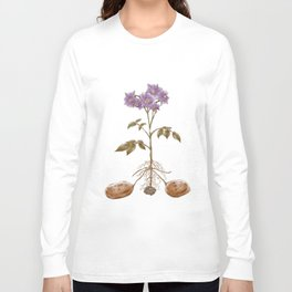 Anatomy of a Potato Plant Long Sleeve T-shirt