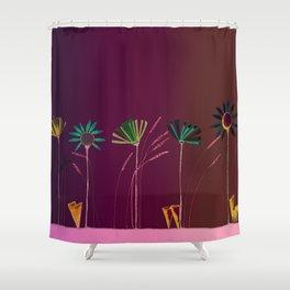 Inside Springtime Shower Curtain