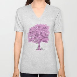Drug Tree Unisex V-Neck