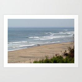 Cape Cod Beach Art Print