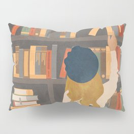 Library Love Pillow Sham