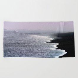 Dusk Coast Beach Towel