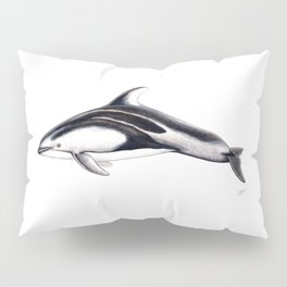 Pacific white-sided dolphin Pillow Sham