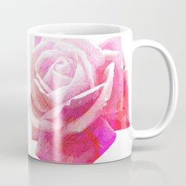 Etching Style Series_Modern Vintage Rose vol.1 Coffee Mug