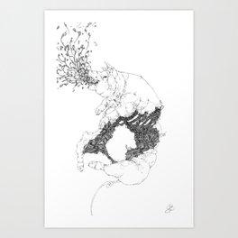 IRIS PERSICA Art Print