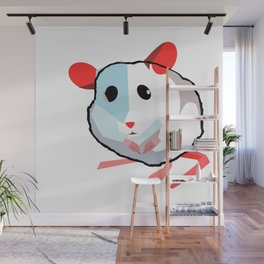 The Little Lonely Mouse Wall Mural