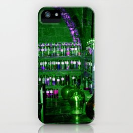 Potion Class - Green and Purple Hues iPhone Case