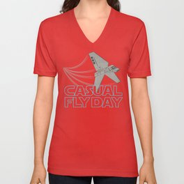 Casual Fly Day Unisex V-Neck