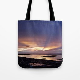 Beams of Light across the Sky Tote Bag