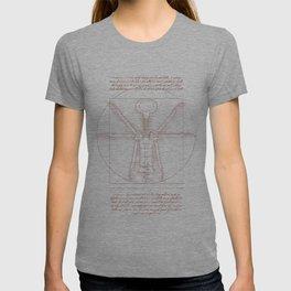 Da Vinci's Real Screw Invention T-shirt