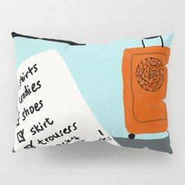 My packing list Pillow Sham