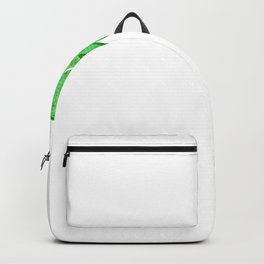 St Patricks Day Who Needs Luck I Have Charm Backpack