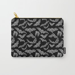 BATS (BLACK) Carry-All Pouch