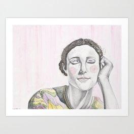 Crush Art Print