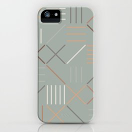 Geometric Shapes 08 iPhone Case