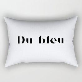 119. Blue Rectangular Pillow