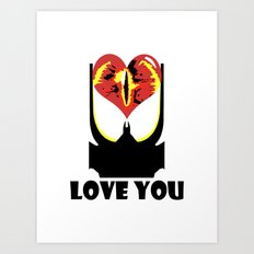 Eye Love You Art Print