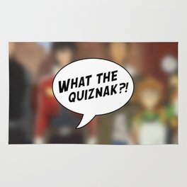 Voltron: What The Quiznak?! Rug