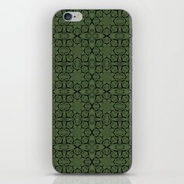 Kale Geometric iPhone Skin