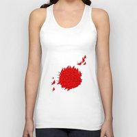 japan Tank Tops featuring japan by Sophie Rousseau