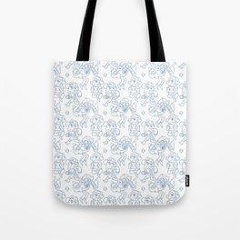 Dipper Pines Pattern Tote Bag